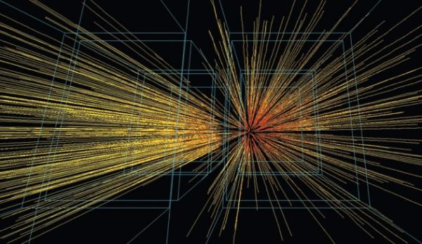Cern Particle Physics Image from Nature article