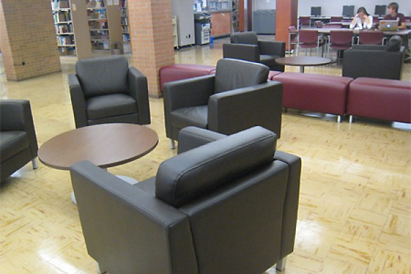 Comfortable Furniture in Leddy Library West Building