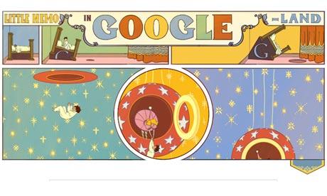 Google Doodle : Little Nemo