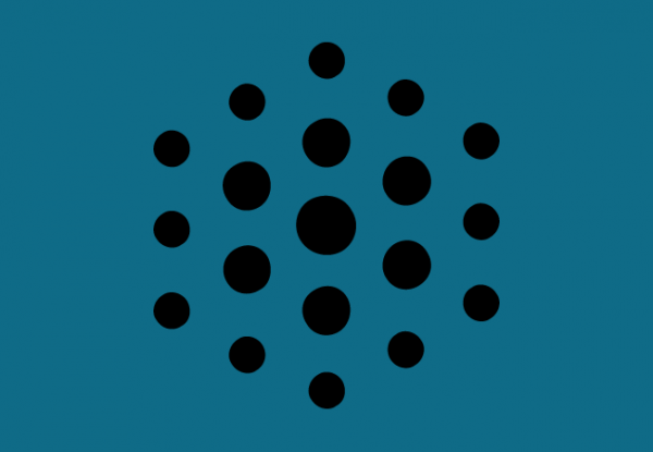 A graphic with the Omni logo (a collection of dots) against a green background.