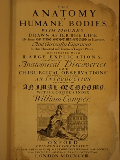 Anatomy of Humane Bodies title page