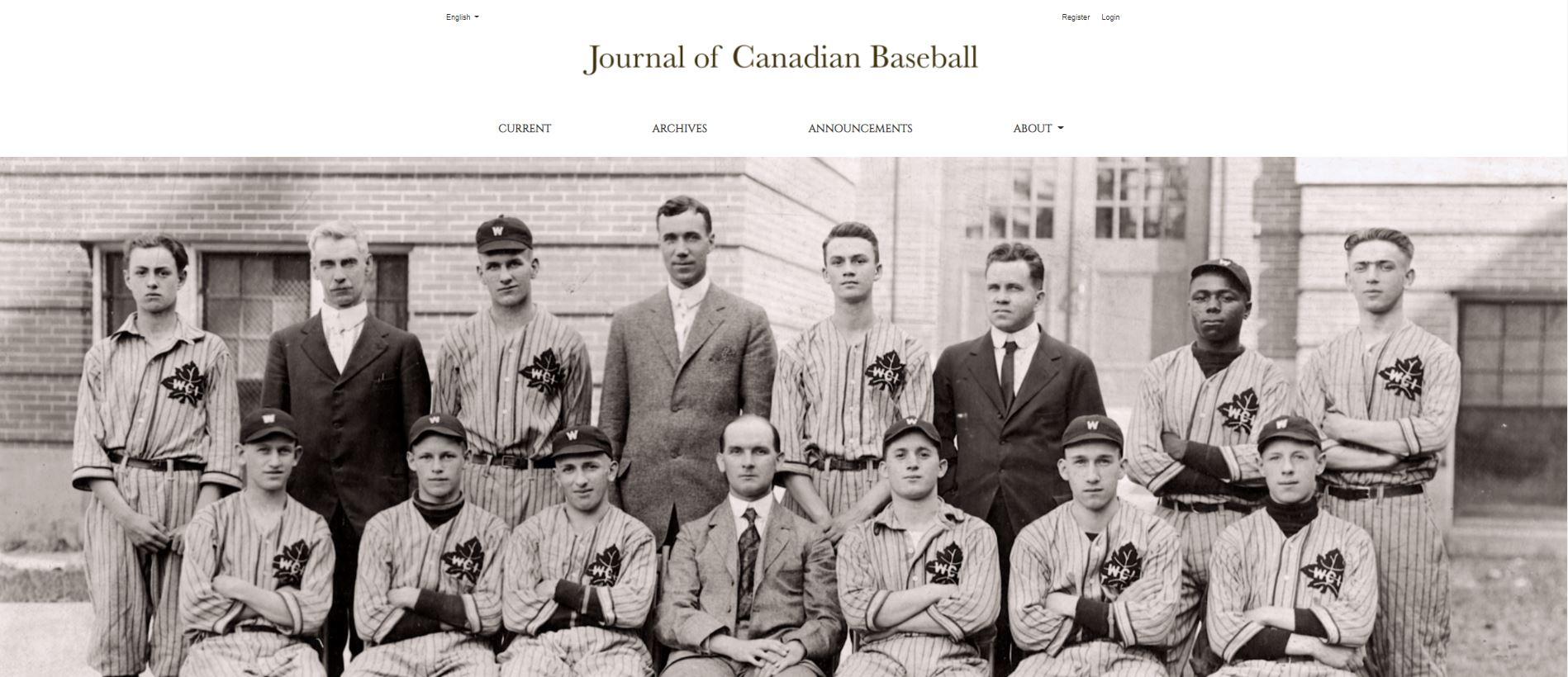 Canadian Journal of Baseball