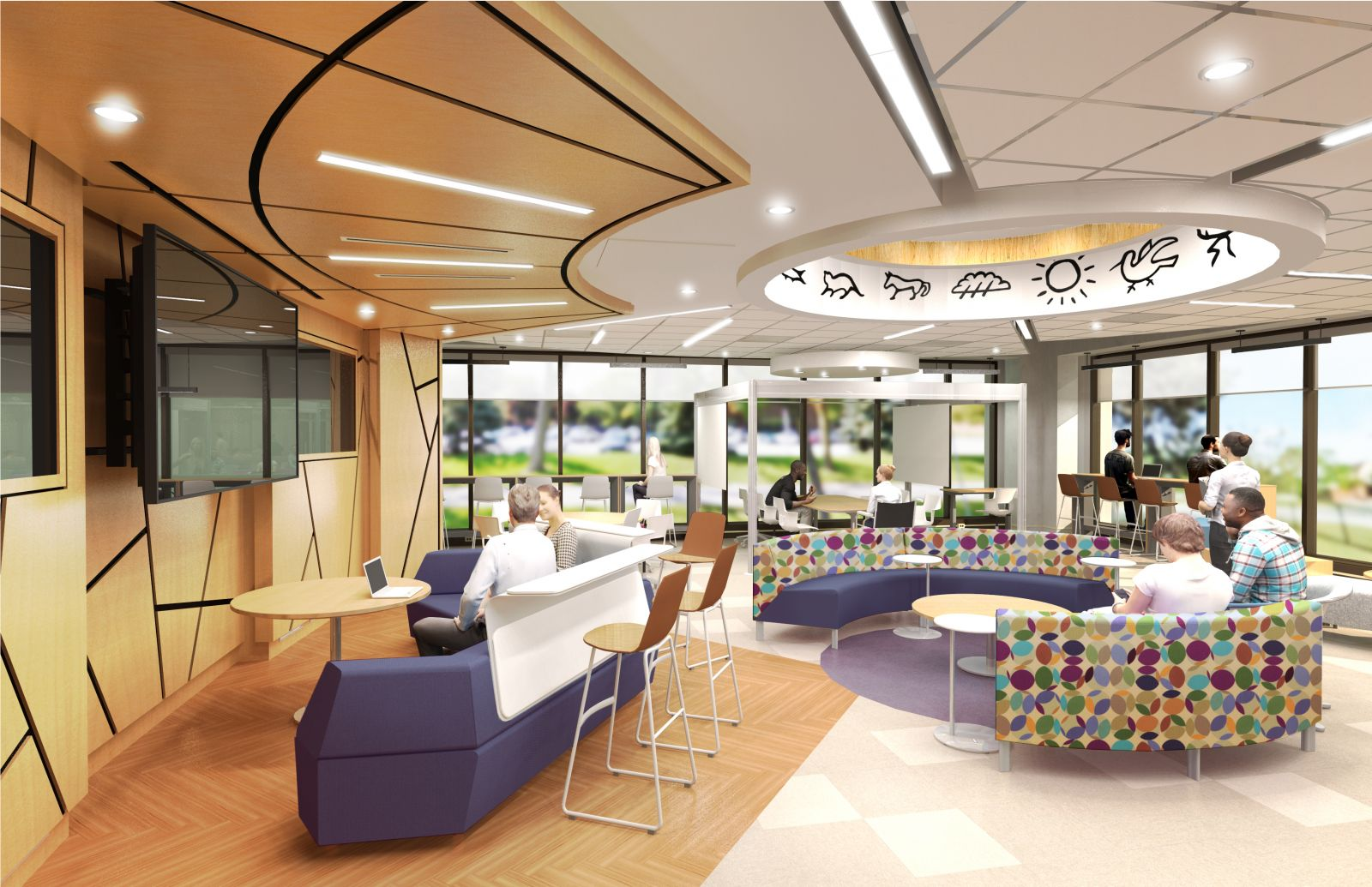 Design Rendering of Student Research Collaboratory