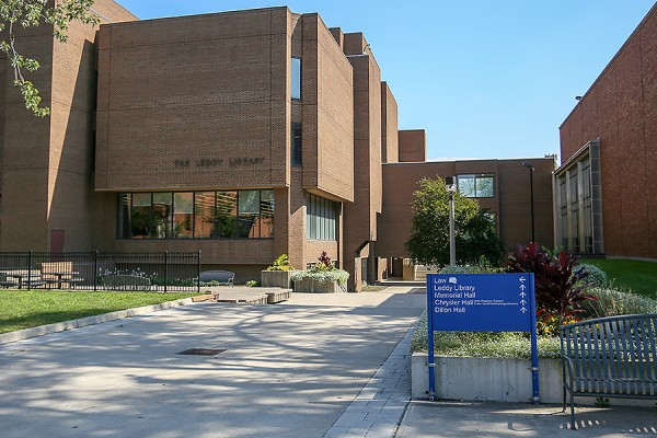 Photo of Leddy Library