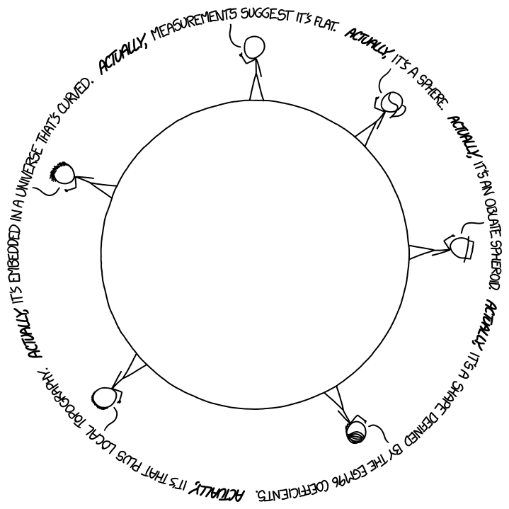 Xkcd Or Why We Need Science Literacy Earth Sciences Edition