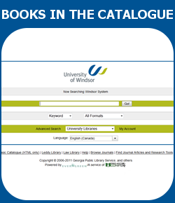 How to Find Books in the Library Catalogue