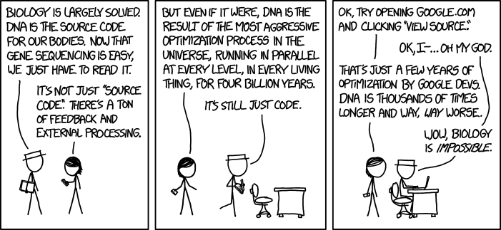 Xkcd Or Why We Need Science Literacy Biology And Chemistry Edition