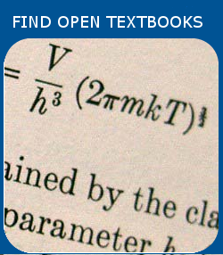 Find open textbooks