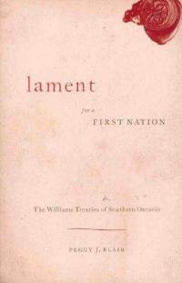 book cover: Lament for first nations