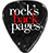 Rock's Backpages logo